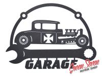 Вивіска Garage Hot Rod Coupe