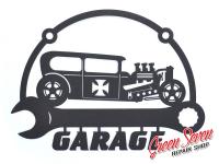 Вивіска Garage Hot Rod Sedan