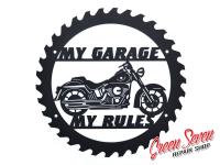 My Garage My rules Harley Davidson