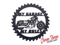 My Garage My rules Harley Davidson 48