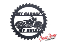 My Garage My rules HD Duo-Glide