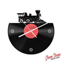 Годинник настінний Steem Train