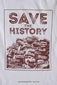 "Футболка ""Save the history"" жіноча"